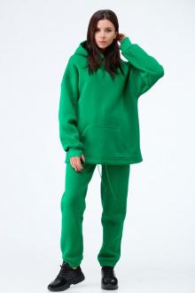 брюки, худи Anelli 976 зеленый