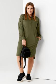 платье Панда 57580z хаки