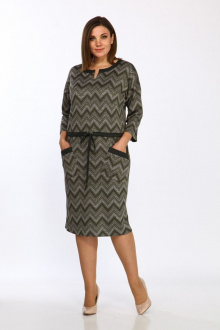платье Lady Style Classic 1673/1 хаки