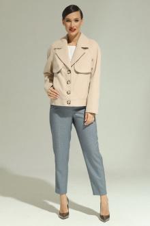 Комплект Магия моды 2010 беж+голубой