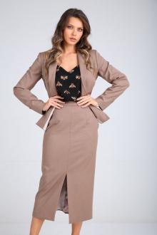 юбка SandyNa 130200 песочно-коричневый