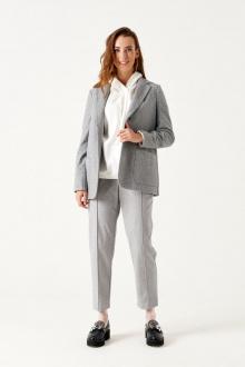 Женский костюм ELLETTO LIFE 5156 серый