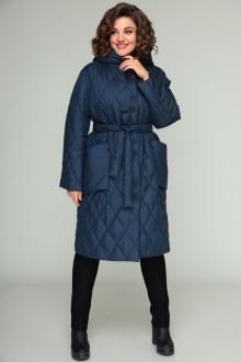 пальто Bonna Image 658 синий