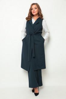 брюки,  жилет Michel chic 1260 темно-сине-зеленый