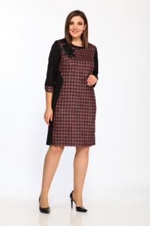 Lady Style Classic 1488/1 черный_малина