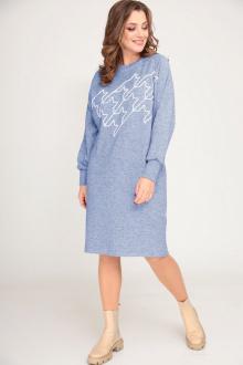 Платье ALEZA 1052 голубой
