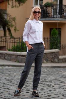 брюки Achosa 740 серый меланж
