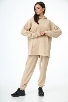 Спортивный костюм Anelli 976 бежевый