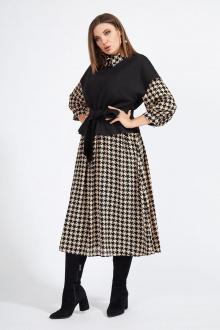 жилет,  платье Милора-стиль 950