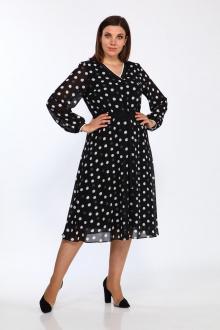 Lady Style Classic 2316 черный-белый_горох