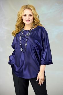 блуза Angelina & Сompany 591 темно-синий