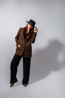 Жакет YFS 308 коричневый