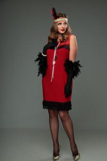 Комплект T&N 010-Чикаго красно-черный