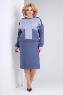 Комплект Viola Style 2674 синий