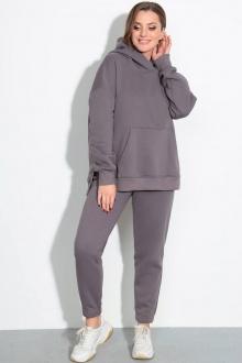 Спортивный костюм LeNata 21237 темно-серый