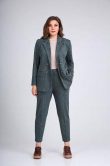 Женский костюм Vilena 752 зеленый