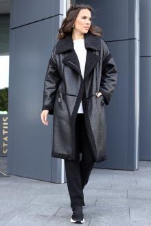 Пальто Мода Юрс 2715 черный
