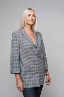 Жакет Avila 0779 серый-меланж