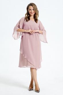 Платье TEZA 722  пудра