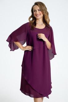 Платье TEZA 722 фиолетовый