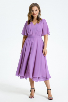 Платье TEZA 1455 лаванда