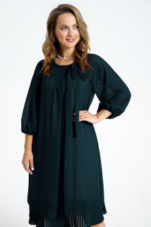 Платье TEZA 2683 изумруд
