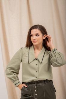 Блуза Angelina 703 олива