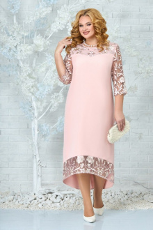 платье Ninele 7335 пудра
