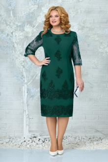 Платье Ninele 7340 изумруд