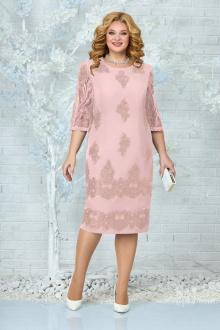 платье Ninele 7340 пудра