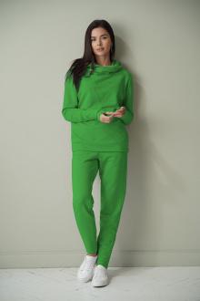 брюки,  свитшот LadisLine 1417 зелень