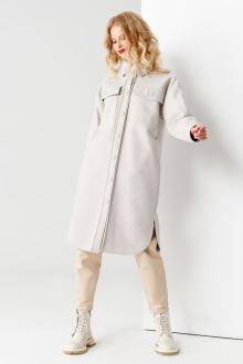 Пальто Панда 53270z серый