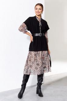жилет,  платье Gizart 7566