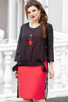 Комплект Vittoria Queen 14263 черный-красный