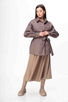 куртка,  пояс Talia fashion 372