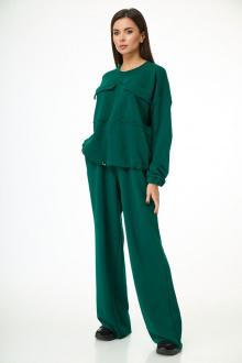 брюки,  джемпер Anelli 1143 зеленый