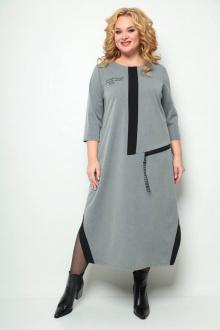 платье Michel chic 2073 серый