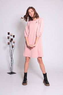Платье TAiER 1032 персиковый