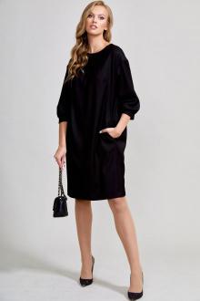 платье Teffi Style L-1578 черный