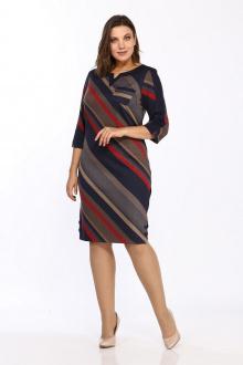 Lady Style Classic 1123/7 темно-синий_красный