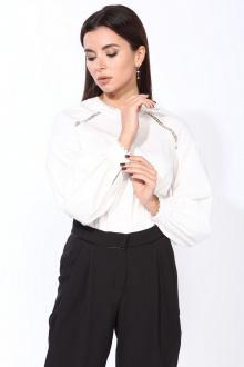 Блуза Faufilure С1208 молочный