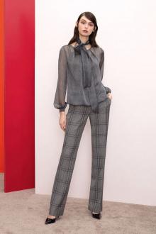 Блуза Nelva 21626 серый