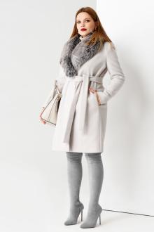 Пальто Панда 51470z серый