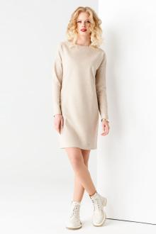 Платье Панда 59780z бежевый
