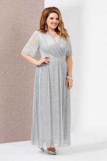 платье Mira Fashion 4778-4 серебро