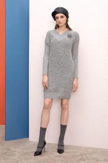 Платье Nelva 5894 серый