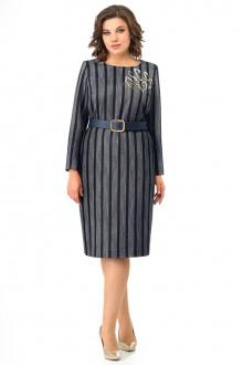 Платье Мишель стиль 1000 синий