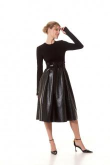 Платье Vladini DR0348 черный