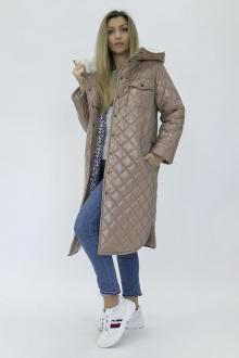 Пальто Effect-Style 835 бежевый