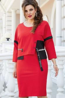 Платье Vittoria Queen 14373 красный